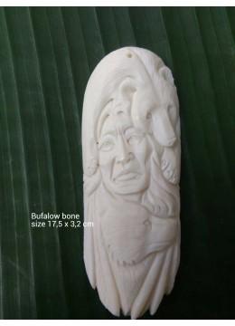 Best Selling Bali Ox Bone Carved Carved Pendant Spirit Model