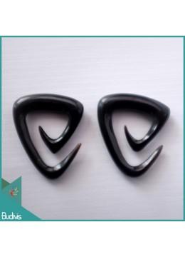 Top Sale Bali Earring Ox Bone Carved Wing Design Body Piercing