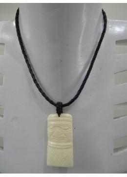 Necklace Bone Carving Mask