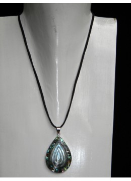 Necklace With Shell Pendant Stainless Bali