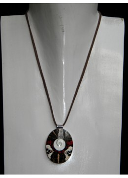 Necklace With Shell Pendant Stainless Direct Artisan