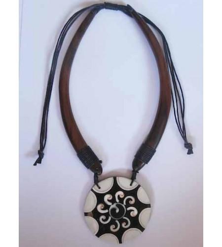 Wooden Choker Necklace Direct Artisan