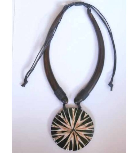 Wooden Choker Necklace From Bali