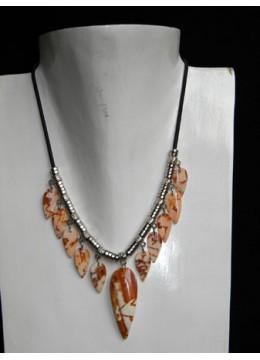 Cut Necklace Pendant Shell Kasandra Bali For Sale