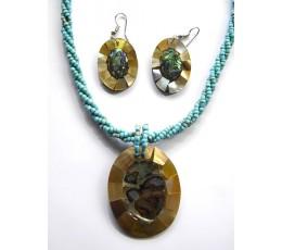 Bali Beaded Necklace Set Latest