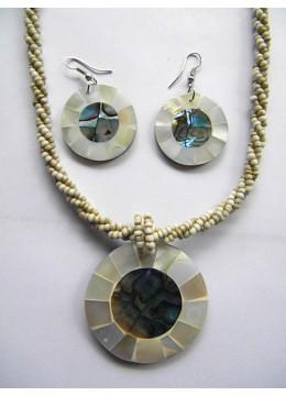 Bali Beaded Necklace Set New!
