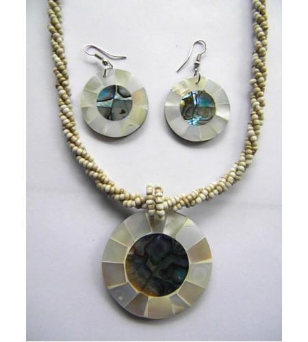 Bali Beaded Necklace Set New! image
