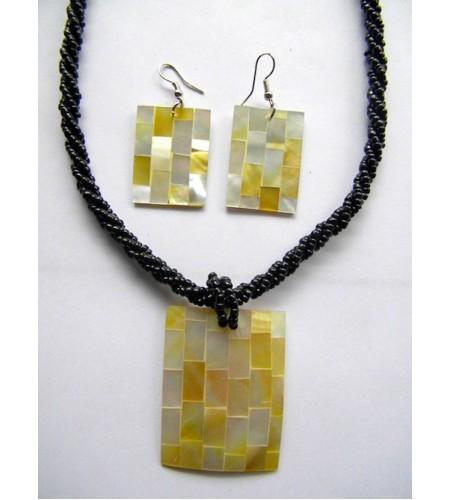 Necklace Bead Pendant Set Prodction
