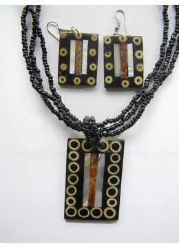 Necklace Bead Pendant Set Affordable