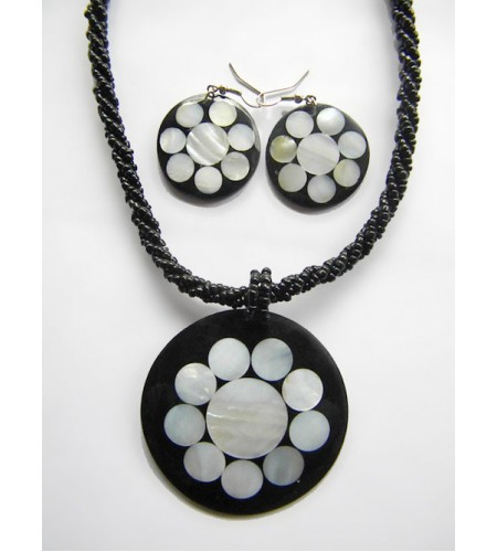 Bali Necklace Bead Pendant Set Top Selling image
