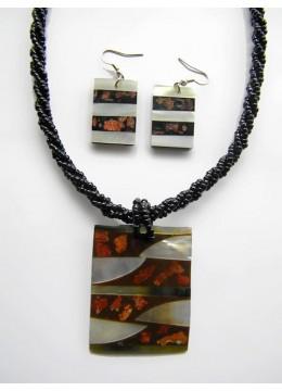 Bali Necklace Bead Pendant Set Best Selling
