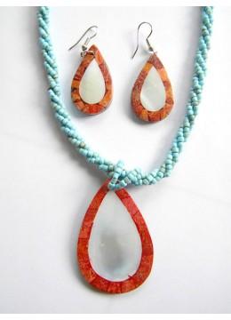 Necklace Shell Pendant Set Prodction