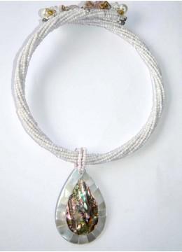 Necklace Beaded Choker Shell Factory