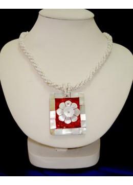 Necklace Bead Shell Pendant Bali