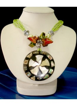Shell Necklace Pendant Made in Indonesia