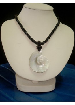 Necklace Pendant Seashell Top Model
