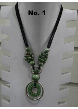 Wood Bead Necklace New! by Edi yanto