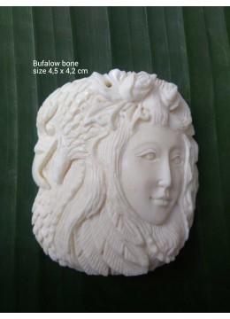 Best Selling Bali Spirit Bone Carved Natural Pendant