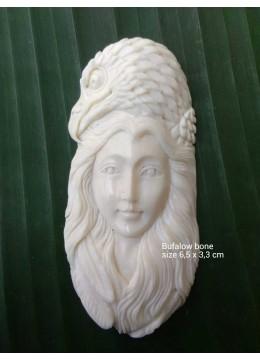 Manufacturer Bali Spirit Bone Carved Natural Pendant