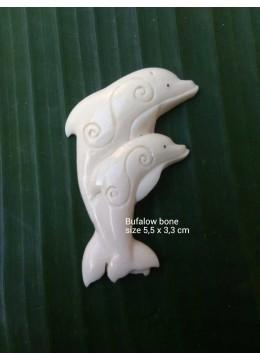 Direct Crafter Bali Ox Bone Carved Carved Pendant Spirit Model