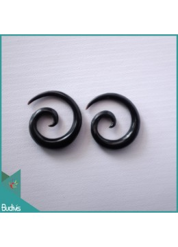 Top Selling Bali Spirall Black Horn Body Piercing