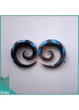 Best Model Spirall Black Horn Body Piercing