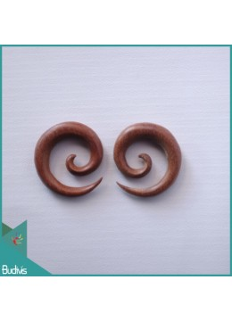 Top Selling Bali Wooden Spirall Body Piercing