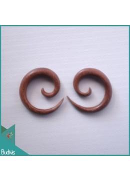 Best Seling 2018 Bali Wooden Spirall Body Piercing