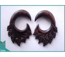 Best Model Wooden Earring Body Piercing C Style