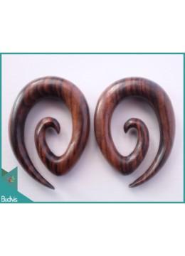 Best Selling Wooden Earring Body Piercing