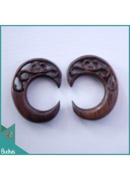 Top Sale Model Wooden Earring Body Piercing C Style