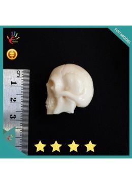 Bali Bone Carved Skull Jewelry Making - Big