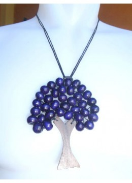 Necklace Bead Wooden Tree
