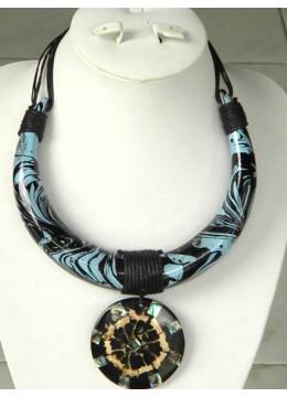Wooden Choker Necklace