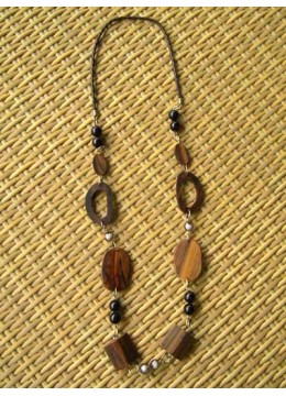 Bali Nature Wood Necklace