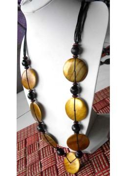 Wood Colour Necklace