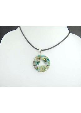 Beautiful Abalone Shell Silver