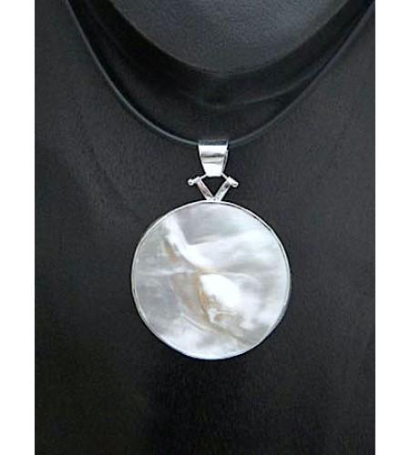 Bali Mop Shell Silver