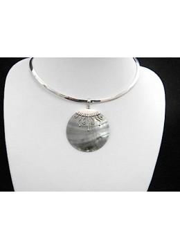 Silver Pendant Seashell