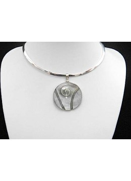Shell Carving Silver