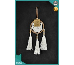 Affordable Rattan Hanging Dreamcatcher Crocheted