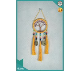 2017 Top Selling Mini Car Hanging Tree Dreamcatcher Crystal