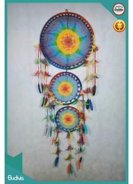 For Sale Regular Rainbow Dream Cacther Crocheted