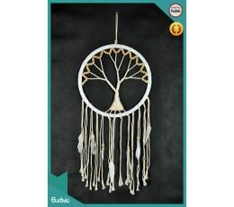 2017 Top Selling Hippie Tree Hanging Dreamcatcher Crocheted