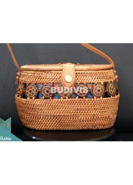 Top Quality Bucket Rattan Bag