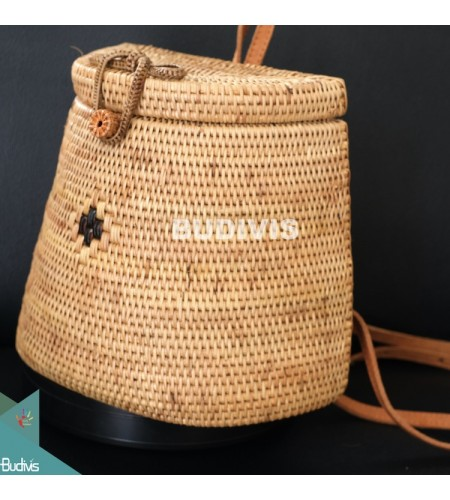 Backpack Style Rattan Bag ,Best Quality Rattan Bag