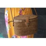 Vintage Rattan Bag ,Summer shoulder Bag ,Woven Basket