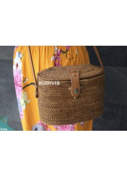 Vintage Rattan Bag ,Summer shoulder Bag ,Woven Basket