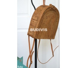 Backpack Rattan Bag, Best Quality Product, Solid Handwoven