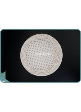 Body Only Woven Net Round Rattan Bag